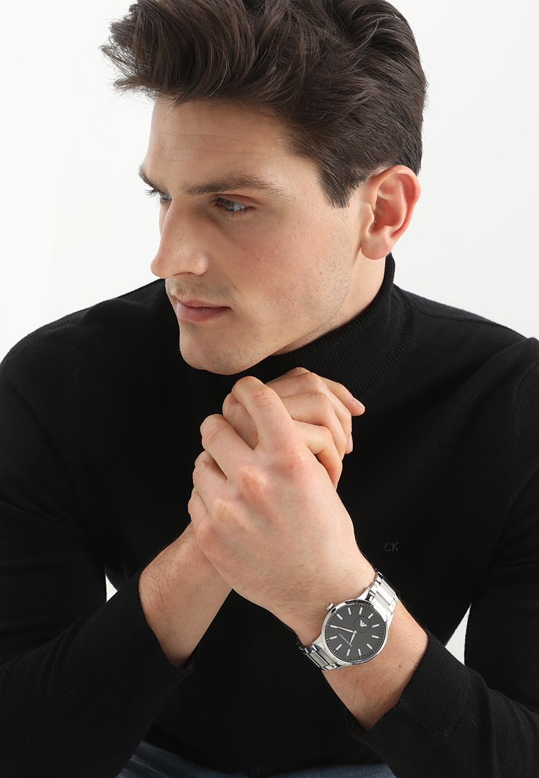 Emporio Armani - Horloge - silberfarben
