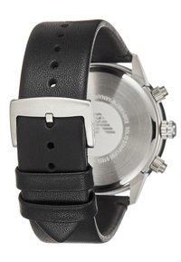 Emporio Armani - Zegarek chronograficzny - black - 2