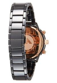 Emporio Armani - Chronograph watch - black - 1