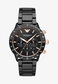 Emporio Armani - Chronograph watch - black - 0
