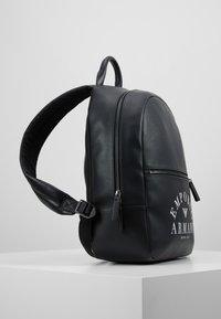 Emporio Armani - ZAINO PRINTED BACKPACK - Zaino - black - 3