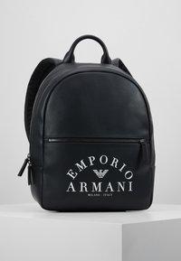 Emporio Armani - ZAINO PRINTED BACKPACK - Zaino - black - 0