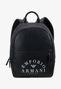 Emporio Armani - ZAINO PRINTED BACKPACK - Zaino - black - 6