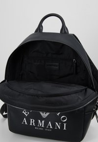 Emporio Armani - ZAINO PRINTED BACKPACK - Zaino - black - 4