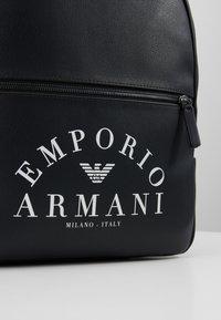 Emporio Armani - ZAINO PRINTED BACKPACK - Zaino - black - 7
