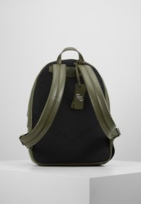Emporio Armani - ZAINO GRANATA BACKPACK - Rygsække - military/black - 2