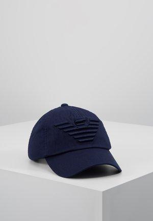 BASEBALL AQUILA RICAMATA - Keps - peacot blue