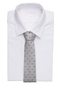 Emporio Armani - LINEARE TIE - Tie - pearl grey - 1