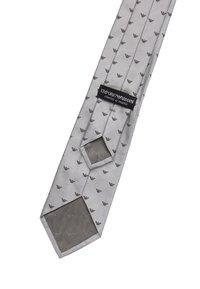Emporio Armani - LINEARE TIE - Tie - pearl grey - 2
