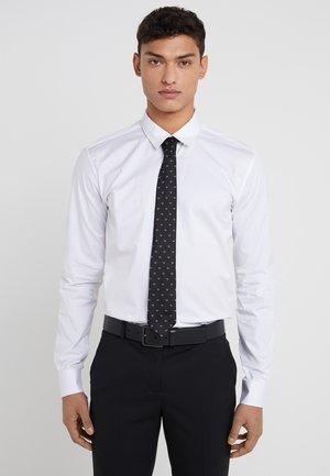 LINEARE TIE - Krawat - nero