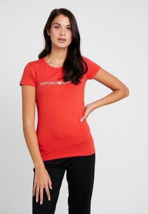 ICONIC LOGOBAND - Pyjamasoverdel - red