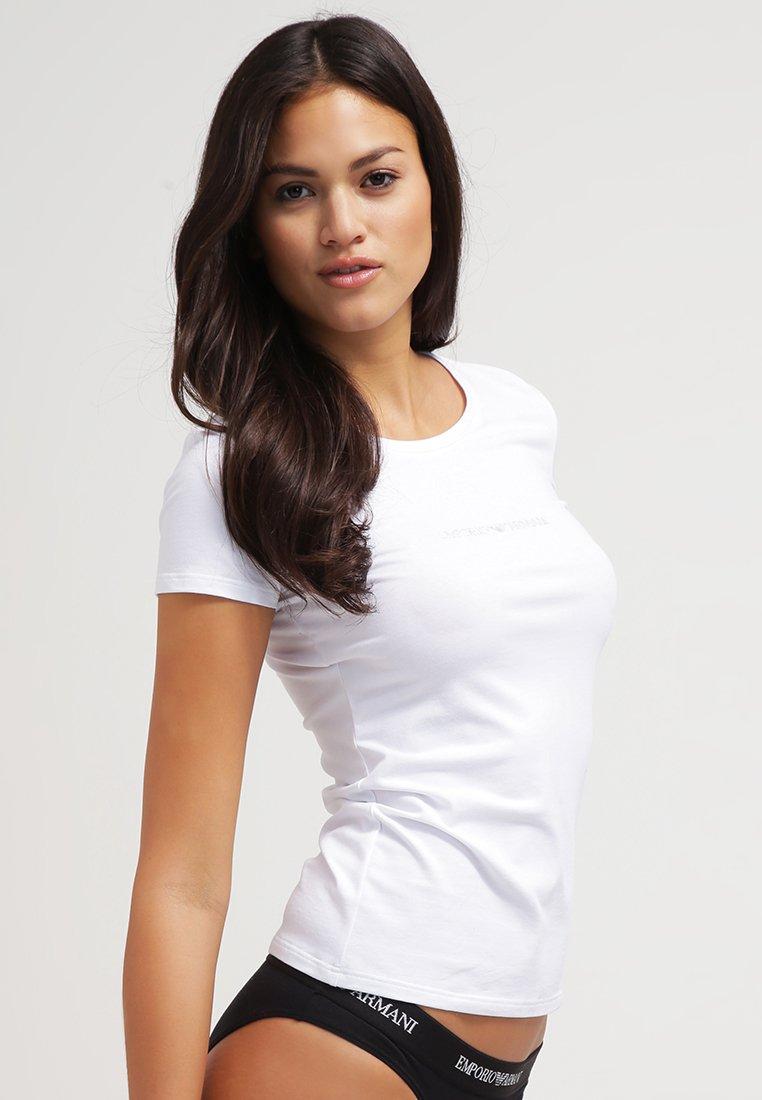 Emporio Armani - ESSENTIAL - Pyjamashirt - bianco