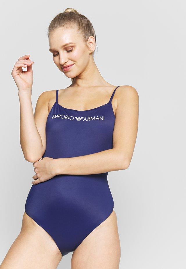 SWIMSUIT LOGO LOVER - Kostium kąpielowy - indigo blue
