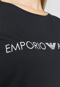 Emporio Armani - MAXI LOGO LOVER - Camisón - black - 5