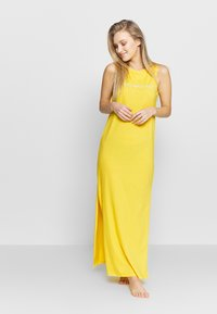 Emporio Armani - LONG TANK DRESS LOVER - Maxi dress - yellow - 1