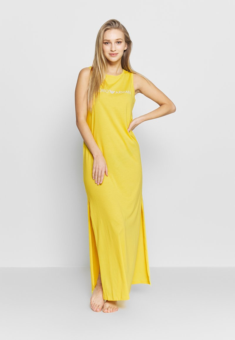 Emporio Armani - LONG TANK DRESS LOVER - Maxi dress - yellow