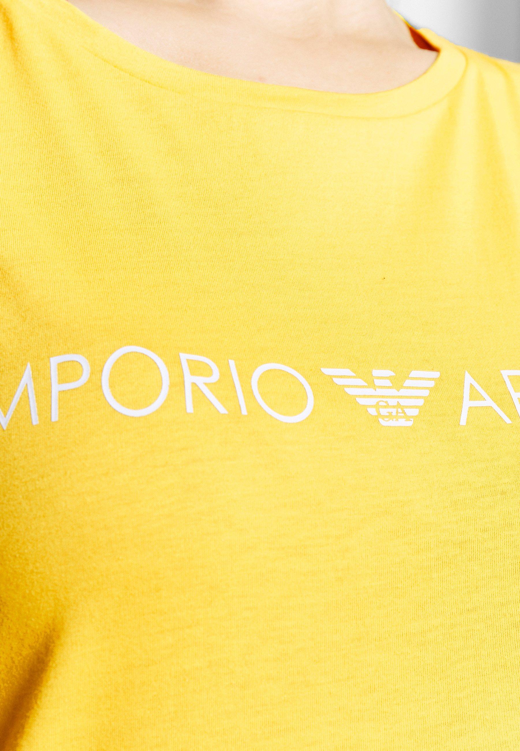 Emporio Armani Long Tank Dress Lover - Maxiklänning Yellow