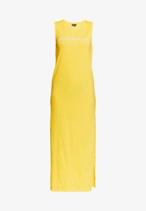 LONG TANK DRESS LOVER - Maxi dress - yellow
