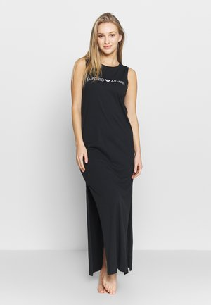 LONG TANK DRESS LOVER - Robe longue - black
