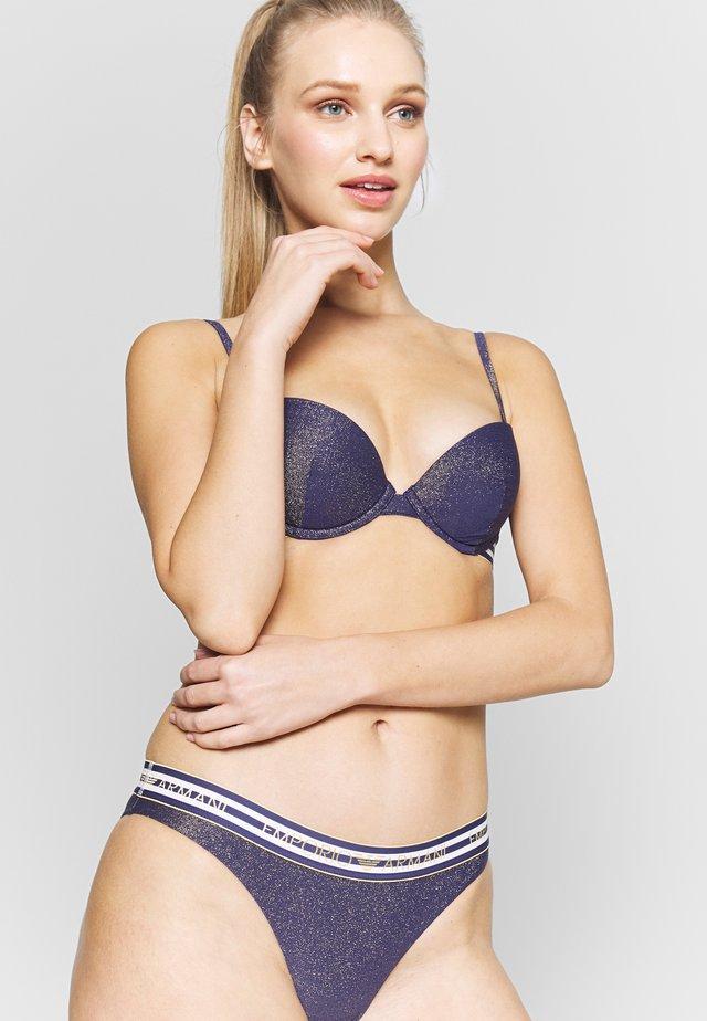 PUSH-UP AND BRIEF CRUISE SET - Bikini - indigo blue