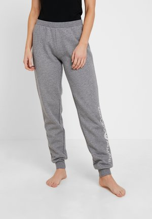 FEMININE ACTIVE PANTS WITH CUFFS - Pantaloni del pigiama - dark grey melange