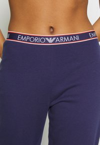 Emporio Armani - PANTS WITH CUFFSVISIBILITY ICONIC - Pyjamabroek - indigo blue - 5