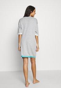 Emporio Armani - NIGHT DRESSVISIBILITY CONIC - Noční košile - light grey melange - 2