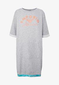 Emporio Armani - NIGHT DRESSVISIBILITY CONIC - Noční košile - light grey melange - 4