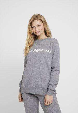 FEMININE ACTIVE - Pyjamasoverdel - grigio melange scuro/dark grey melange