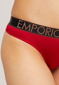 Emporio Armani - HOLY THONG - Perizoma - rubino/ruby - 4