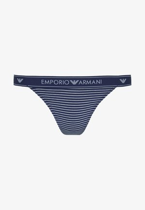 THONGVISIBILITY  SOLID STRIPES - String - blue/cream