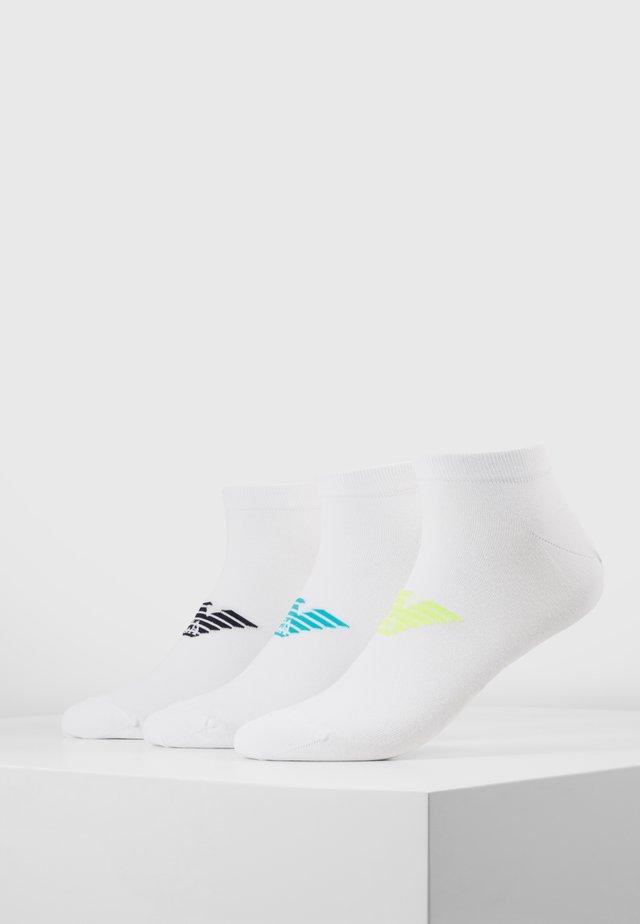 IN SHOE SOCKS 3 PACK - Socks - white