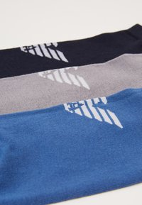 Emporio Armani - IN SHOE SOCKS 3 PACK - Skarpety - bluebluette/grigio - 2