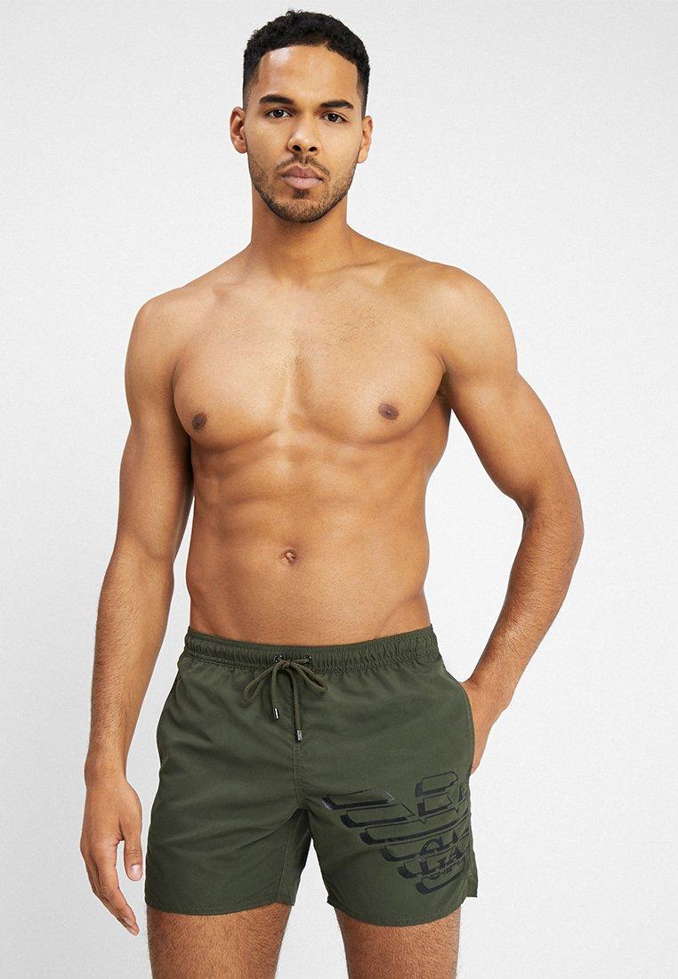 Emporio Armani - BOXER BEACHWEAR - Swimming shorts - military green