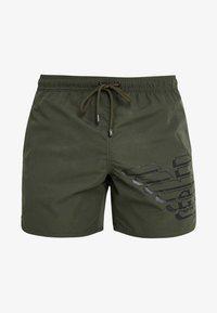 Emporio Armani - BOXER BEACHWEAR - Swimming shorts - military green - 2