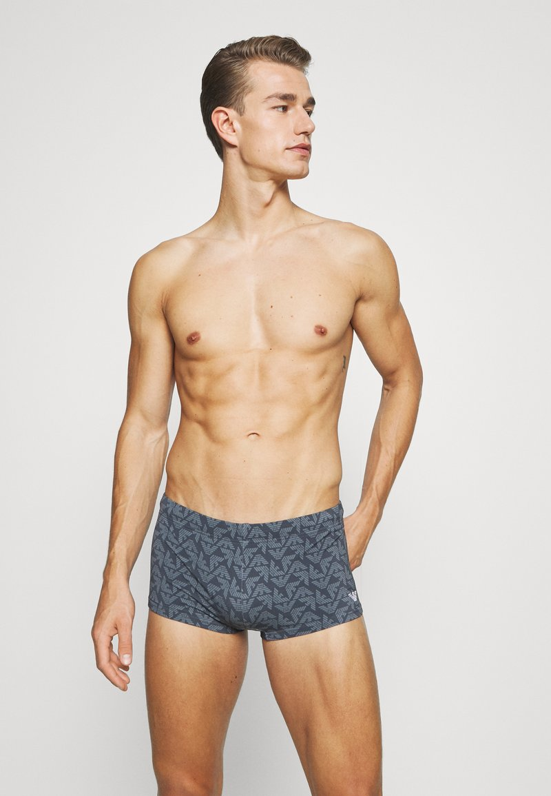 Emporio Armani - SWIMMING TRUNK - Zwemshorts - antracite