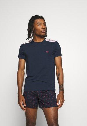 CREW NECK - Pyžamový top - blu navy
