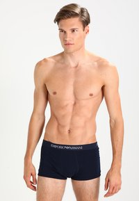 Emporio Armani - TRUNK 2 PACK - Shorty - navy blue - 0