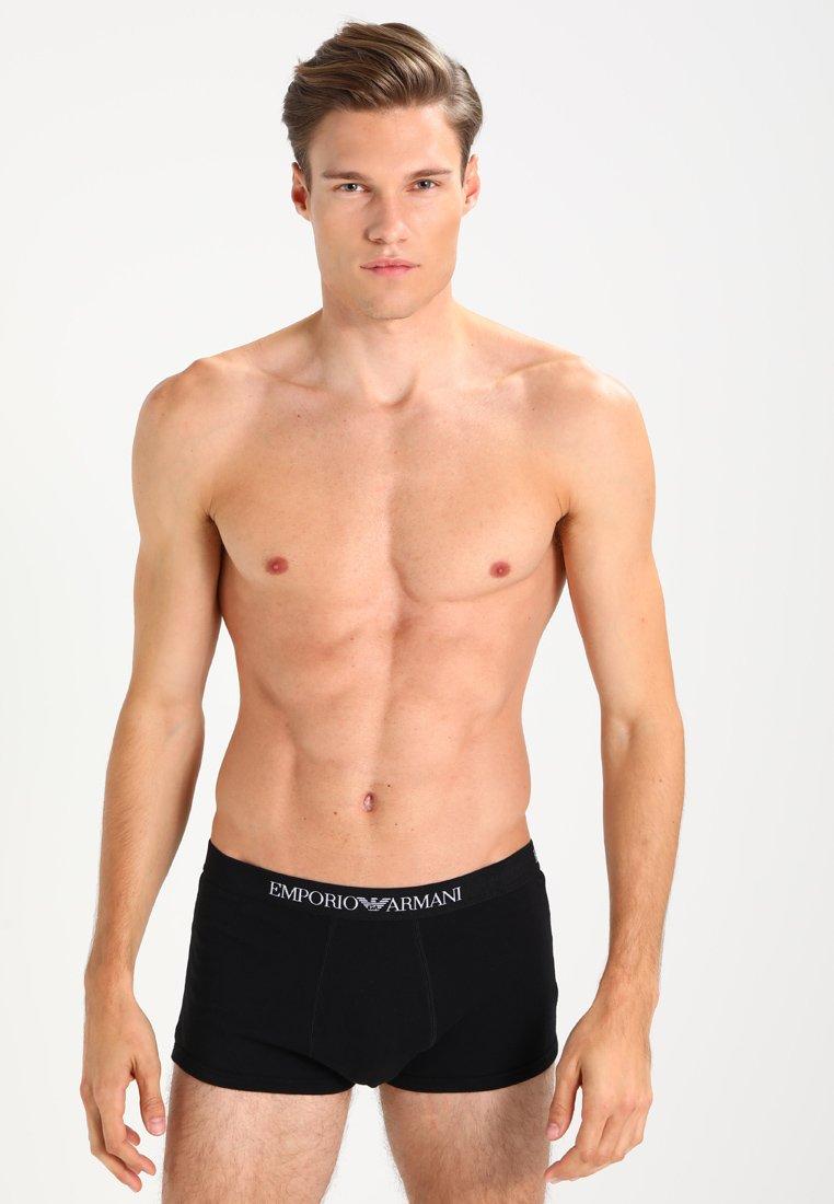 Emporio Armani - TRUNK 2 PACK - Panty - black