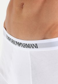 Emporio Armani - TRUNK 3 PACK - Shorty - white/red/black - 5