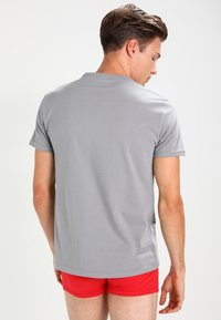 Emporio Armani - CREW NECK 2 PACK - Hemd - gray/navy blue - 2