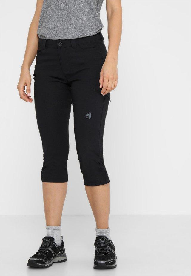 GUIDE PRO CAPRI - Outdoor shorts - black