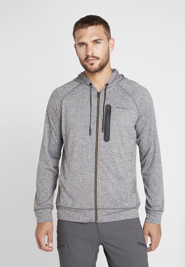 RESOLUTION  - Zip-up hoodie - Heather grey