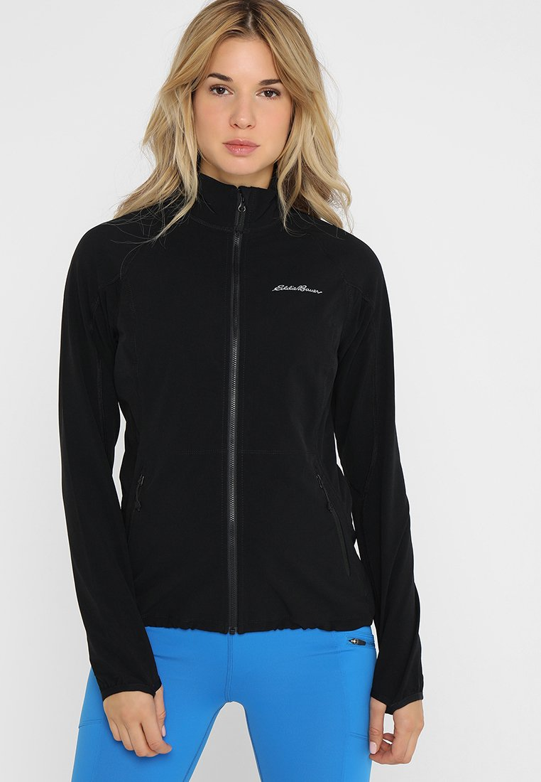 Eddie Bauer - SANDSTONE - Soft shell jacket - black