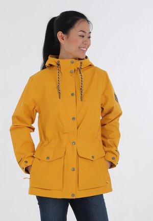 Outdoor jacket - dark marigold