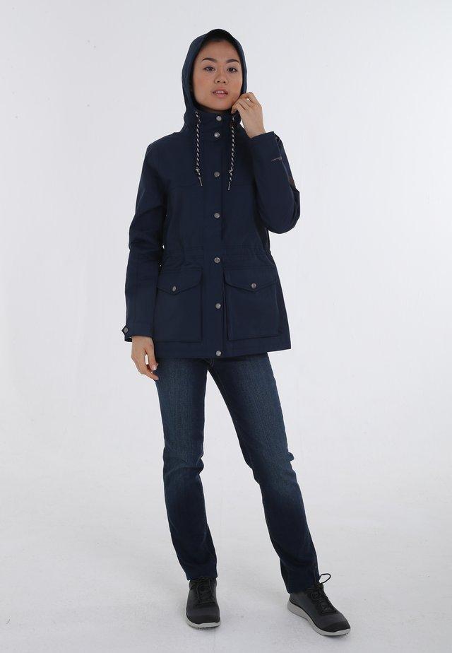 Outdoor jacket - medium indigo