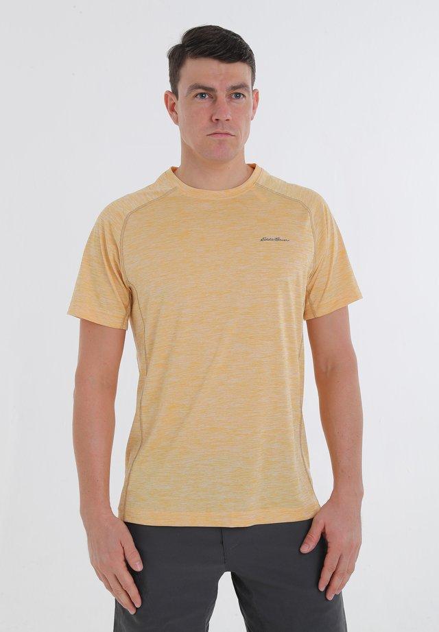 RESOLUTION - Print T-shirt - dark marigold