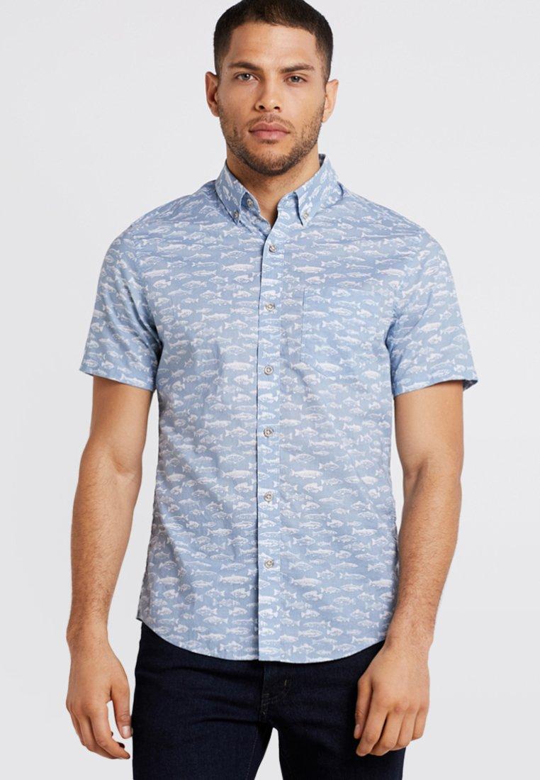 Eddie Bauer - Shirt - light blue