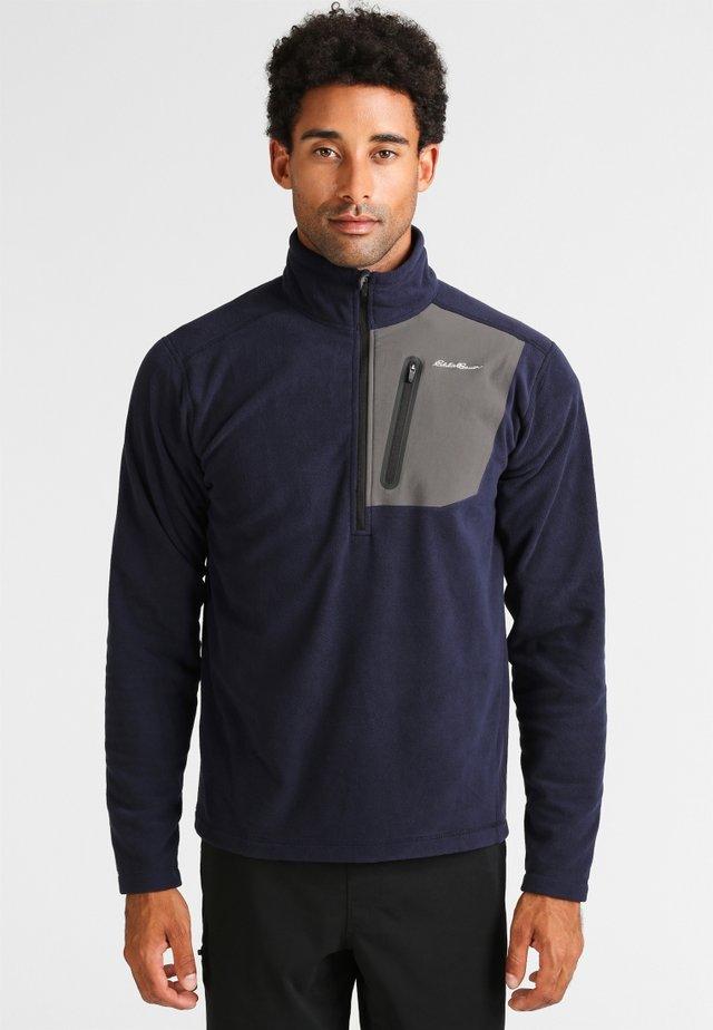 CLOUD LAYER PRO MIT REISSVERSCHLUSS - Fleece jumper - dark blue