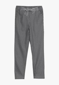 Ebbe - VAMILLA TROUSERS - Trousers - black/white - 0